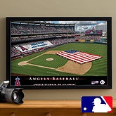 Personalized Los Angeles Angels MLB Baseball Stadium Canvas Print - 12829