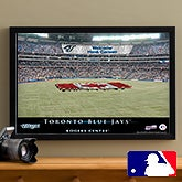 Personalized Toronto Blue Jays MLB Baseball Stadium Canvas Print - 12831