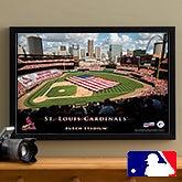 Personalized St Louis Cardinals MLB Baseball Stadium Canvas - 12835