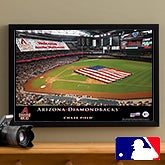 Personalized Arizona Diamondbacks MLB Baseball Stadium Canvas Print - 12839