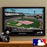 Personalized San Francisco Giants MLB Baseball Stadium Canvas Print - 12841