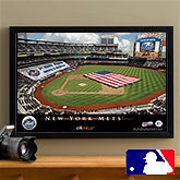 Personalized New York Mets MLB Baseball Stadium Canvas Print - 12845