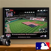 Personalized Washington Nationals MLB Baseball Stadium Canvas Print - 12846