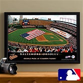 Personalized Baltimore Orioles MLB Baseball Stadium Canvas Print - 12847