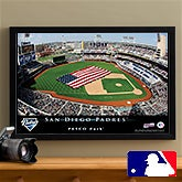 Personalized San Diego Padres MLB Pub Sign Canvas Print - 12848