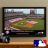 Personalized Philadelphia Phillies MLB Baseball Stadium Canvas Print - 12849