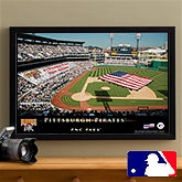 Personalized Pittsburgh Pirates MLB Pub Sign Canvas Print - 12850