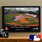 Personalized Boston Red Sox MLB Baseball Stadium Canvas Print - 12853