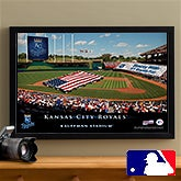 Personalized Kansas City Royals MLB Baseball Stadium Canvas Print - 12856