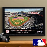 Personalized New York Yankees MLB Baseball Stadium Canvas Print - 12860