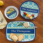 Personalized Melamine Dishes - Nautical Link - 12864D