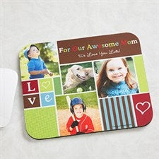 Personalized Photo Collage Mousepad - Photo Fun - 12882