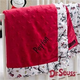 Personalized Cat In The Hat Baby Blankets - Dr Seuss - 12903