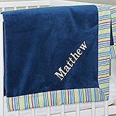 Personalized Baby Blanket for Boys - 12904