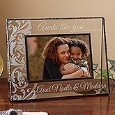 Personalized Aunt Picture Frames - Aunts Like You Engrave Glass Frame - 12910
