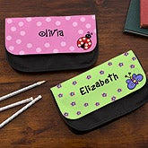 Personalized Girls Pencil Cases - Choose Your Graphic - 12913