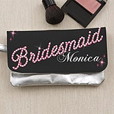 Personalized Wristlet for Wedding Bridal Party - 12917