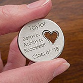 Personalized Pocket Token Charms - Graduation Inspiration - 12922
