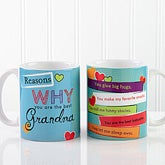 Personalized Coffee Mugs - Reasons You're The Best - 12930