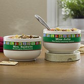 Personalized Soup Bowls for Teachers - Little Learners - 12934