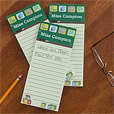 Personalized Teacher's To Do Lists - Little Learners - 12935