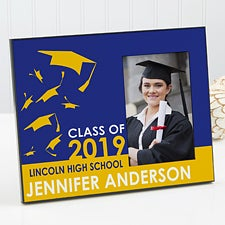 Personalized Graduation Picture Frames - Graduation Excitement - 12942