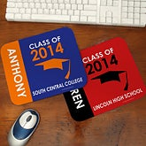 Personalized Graduation Mouse Pads - Graduation Excitement - 12943