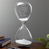 Personalized Hourglass with Inspirational Quote - 12953