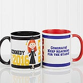 Personalized Graduation Coffee Mugs - Graduation Characters - 12954