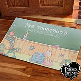 Personalized Teacher Doormat - Precious Moments - 12966