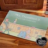 Personalized Teacher Doormat - Precious Moments - 12966