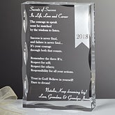 Personalized Graduation Gifts - Secrets of Success Keepsake - 12969