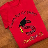 Personalized Kids Graduation T-Shirts - Aiming For The Stars - 12988