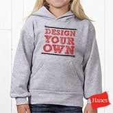 Design Your Own Custom Kids Hooded Sweatshirts - 12993