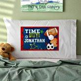 Personalized Boys Sports Pillowcase - 12996