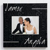 Personalized Photo Canvas Art - Couple In Love - 13013
