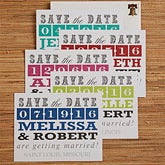 Wedding Save The Date Cards & Magnets - Lucky In Love - 13018
