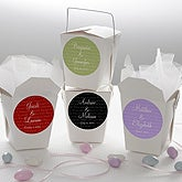 Personalized Wedding Favor Stickers - Love Is Patient - 13036