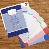 Personalized Bridal Shower Invitations - Wedding Monogram - 13044