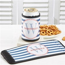 Personalized Can & Bottle Wraps - Anchors Aweigh - 13052