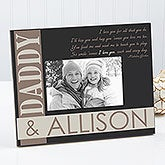 Personalized Father & Son Picture Frames - I Love You Every Day - 13055