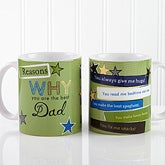 Personalized Coffee Mugs - Reasons You're The Best - 13061