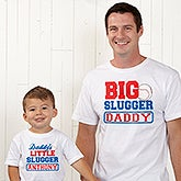 Personalized Father & Son Baseball Clothes - 13074