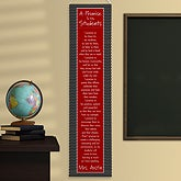 Personalized Classroom Banners - A Teacher's Promise - 13094