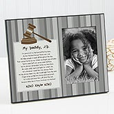 Personalized Picture Frames - Daddy Lawyer - 13105