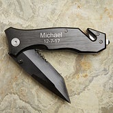 Personalized Pocket Knife - Survivor Emergency Tool - 13107