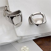 Stainless Steel Bottle Opener Cuff Links - 13108