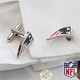 NFL Football Cuff Links - New England Patriots - 13112