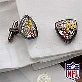 NFL Football Cuff Links - Baltimore Ravens - 13116