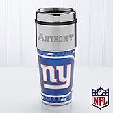 Personalized NFL Football Travel Mug - New York Giants - 13125
